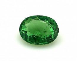 0.75(ct)Superb Color Tsavorite Garnet from Kenya