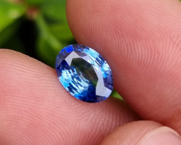 CERTIFIED 2.07 CTS NATURAL STUNNING BLUE SAPPHIRE FROM SRI LANKA
