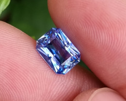 NO HEAT 2.10 CTS CERTIFIED NATURAL TOP LUSTERED BLUE SAPPHIRE SRI LANKA