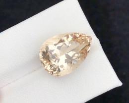 Beautiful piece 12.35  Ct Yellow Scapolite  gemstone