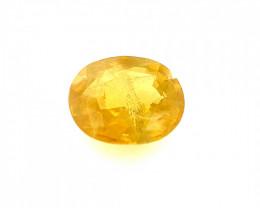 2.05 CT yellow Sapphire Gemstones
