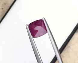 2.20 Carats Natural Ruby Cut Stone from Africa
