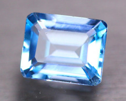 5.88Ct Natural Sky Blue Topaz Octagon Cut GW9485