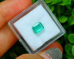 MUZO 1.24Ct Colombian Muzo Emerald Neon Mint Green Beryl SA986
