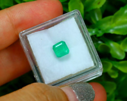Muzo 1.29Ct Colombian Muzo Emerald Neon Mint Green Beryl SA988