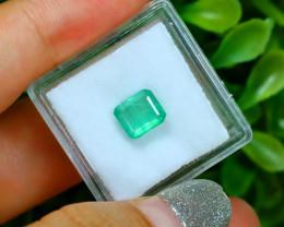 MUZO 1.56Ct Colombian Muzo Emerald Neon Mint Green Beryl SA992