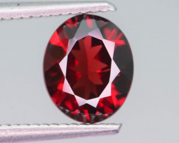Blood Red 2.30 ct Fancy Cut Garnet Open Color Ring Size3
