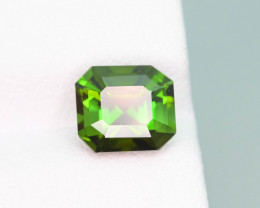 Presenting Grass Green Color 1.90 ct Natural  Tourmaline Jewelry Piece
