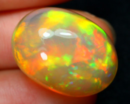 Chaff Fire 20.27Ct Bright Chaff Color Play Natural Welo Opal LX42