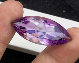 Quality Cutting 34.50 Ct Sparkling Color Natural Amethyst