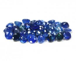 Sapphire 3.74Ct 39Pcs Round Cut Natural Madagascar Blue Sapphire SB199