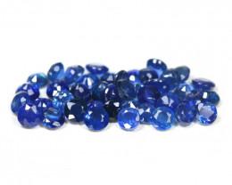 Sapphire 3.75Ct 42Pcs Round Cut Natural Madagascar Blue Sapphire SB200