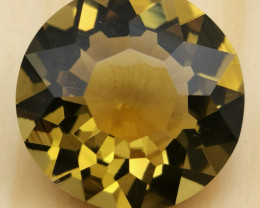 Citrine, 48.1ct, absolutely eyeclean gem from Brazil , cut by myself !