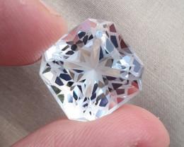 A very Amazing Flower Cut Quartz Gemstone
