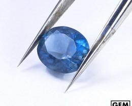 1.8 ct. Santa Maria Color Aquamarine Oval Cut (Africa)