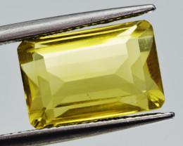 Natural Lemon Quartz 7.37  Cts Perfect Precision Cut