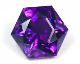 Amethyst 4.22Ct VVS Master Cut Natural Uruguay Violet Amethyst SB338