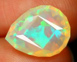 Welo Opal 1.96Ct Master Cut Natural Ethiopian Flash Color Welo Opal SB318