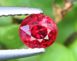 0.620 Cts Vivid Red Spinel Natural Burmese Mogok 100% Natural Unheated