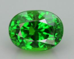 Tsavorite Garnet 1.60 ct Intense Green Color Tanzania Mined  SKu-11