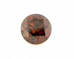 Red Diamond 0.50 CT Diamond Gemstones