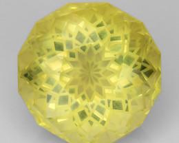 14.02 Cts Lemon Quartz Brilliant Cut Color and Luster ~ LQ2