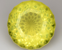 11.25 Cts Lemon Quartz Brilliant Cut Color and Luster ~ LQ3