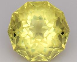 3.58 Cts Lemon Quartz Brilliant Cut Color and Luster ~ LQ18
