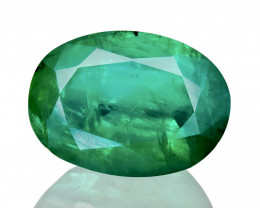 (Certified) 4.25 cts Natural Emerald Sparkling Gemstone