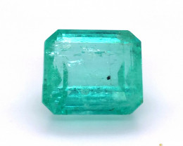 GFCO~Huge 44.93 Carats Natural Colombian Emerald Gemstone