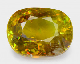 Color Change Sphene 2.94 Cts 100% Unheated Natural Gemstone