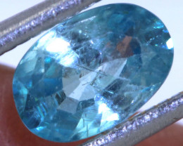 1.20 CTS  BLUE ZIRCON FACETED STONE  PG-1224 Preciousgems