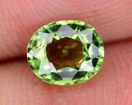 Apple Green Color 1.10 ct  Tourmaline