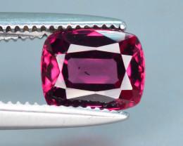 Top Grade 1.15 ct lovely Grap Garnet Ring Size~M