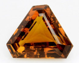 10.96Ct Natural Honey Quartz Top Class Top Cutting Gemstone. Q6