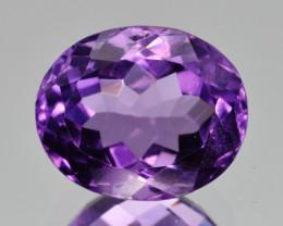 Natural Amethyst 5.70  Cts, Good Quality Gemstone