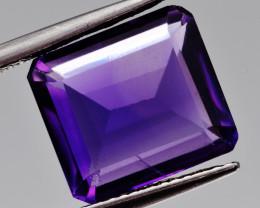 Natural Amethyst 6.14  Cts, Good Quality Gemstone
