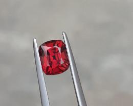 HGTL Certified 2.13 Carats Natural Rhodolite Garnet Nice Cut Gemstone