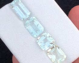 7.60 carats, Natural Aquamarine lot