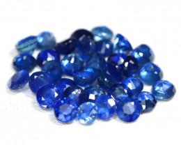 Sapphire 3.08Ct Round Cut Natural Madagascar Blue Sapphire Lot SB467