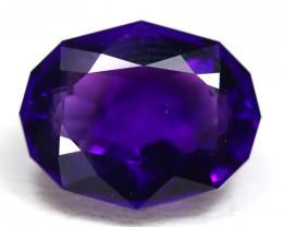 Amethyst 5.70Ct VVS Oval Cut Natural Uruguay Violet Amethyst SB558