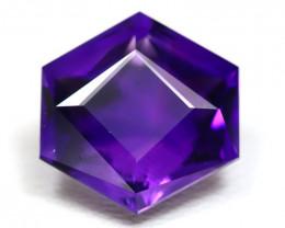 Amethyst 5.76Ct VVS Master Cut Natural Uruguay Violet Amethyst SB559