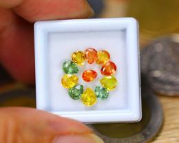 4.55ct Natural Fancy Color Sapphire Pear Cut Lot GW9529