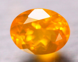 1.46ct Natural Mexico Fire Opal Oval Cut Lot  V8494