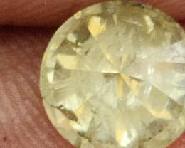 NATURALYELL0W GREEN DIAMOND 1.75CTWSIZE-1PCS