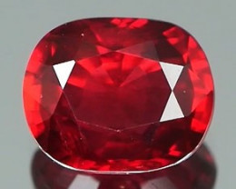 Certified No Heat Ruby 0.60Ct Good Crystal