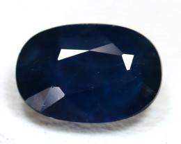 Sapphire 1.53Ct VS2 Oval Cut Natural Australian Blue Sapphire SB749