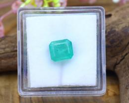 Muzo 1.93Ct Natural Colombian Green Color Muzo Emerald SB714