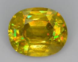 Tanzanian Mined 12.20 ct Imperial Sphene Class Color Spectrum Sku-83