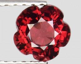 0.98Ct Fantastic Flower Cut Grape Garnet Gemstone Gf06